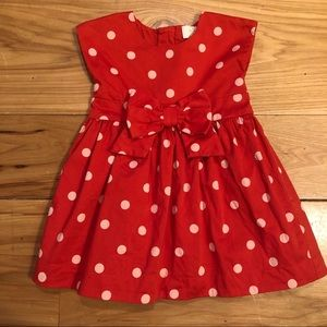 Kate Spade Polka Dot Dress with Bow 12 months